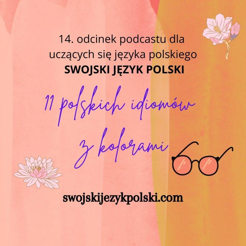 polskie idiomy z kolorami